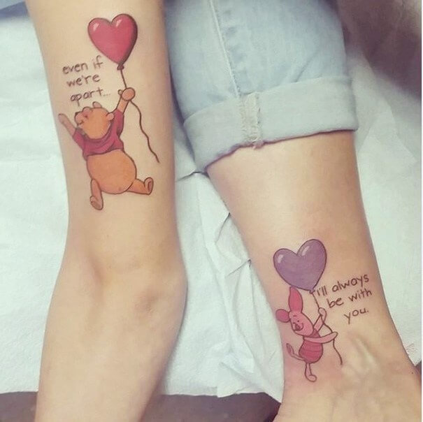 tattoos son mother mom cool disney miss bee always themed bumble