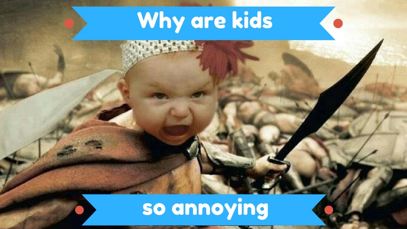 16 Pictures That Show Why Are Kids So Annoying