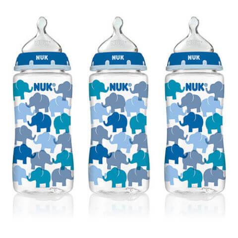 NUK Elephant 10-Ounce Bottle