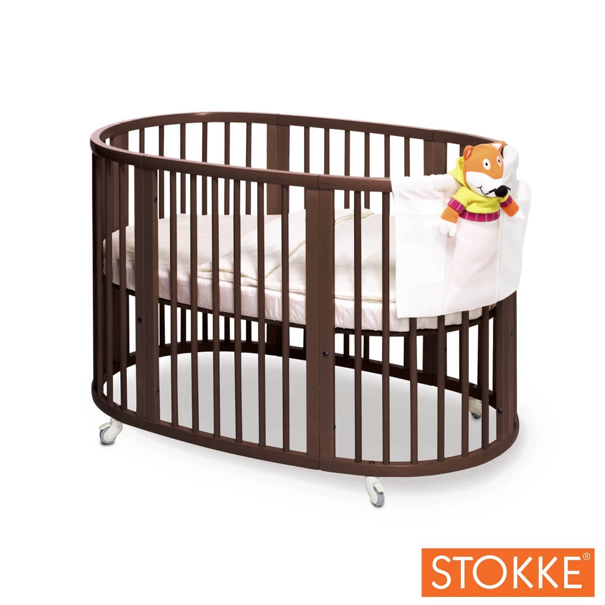 Cribs carousel crib white baby relax emery 2in1 for Baby furniture