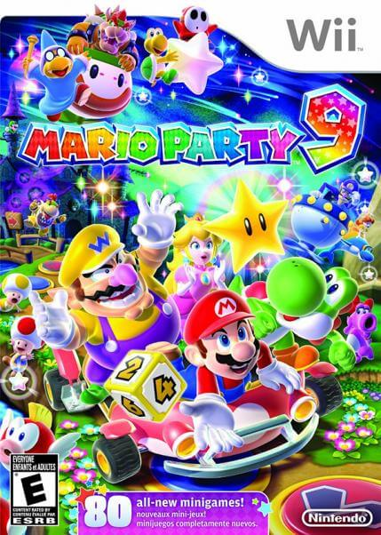 mario party wii game