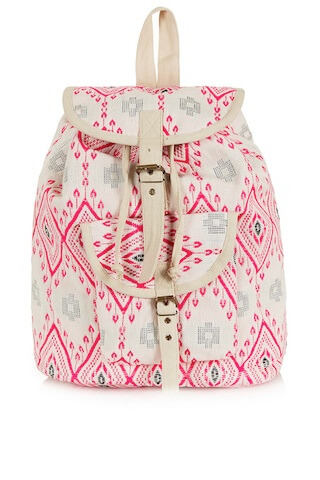 Topshop Diamond Jacquard Backpack - best backpacks for moms