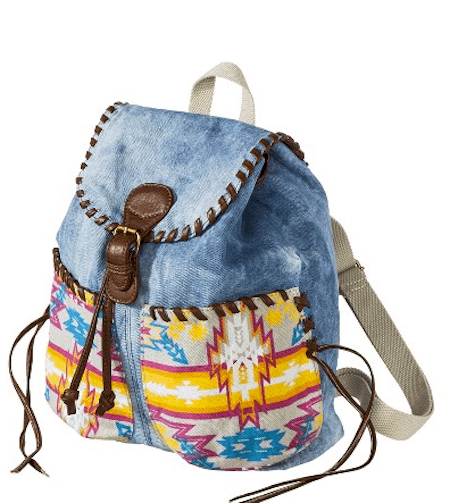 Target Mad Love Denim Backpack