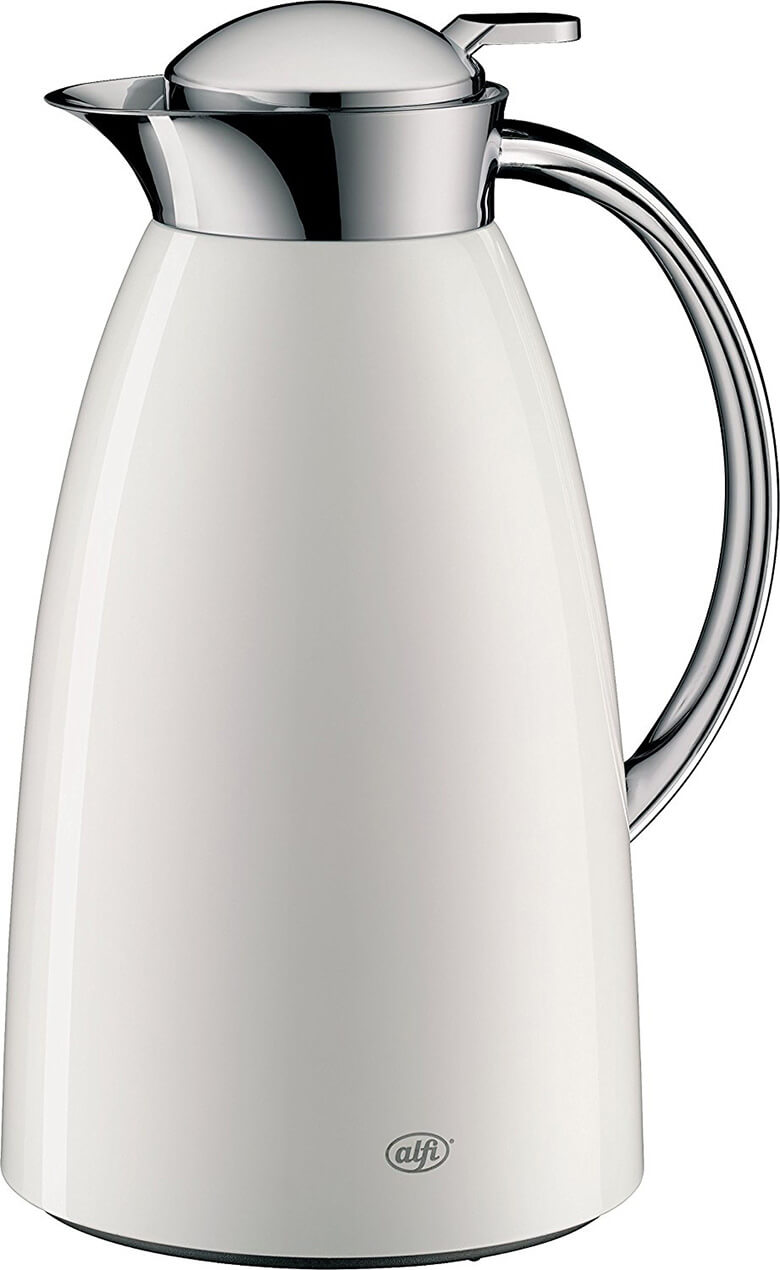 Alfi Gusto Glass Vacuum Lacquered Metal Thermal Carafe