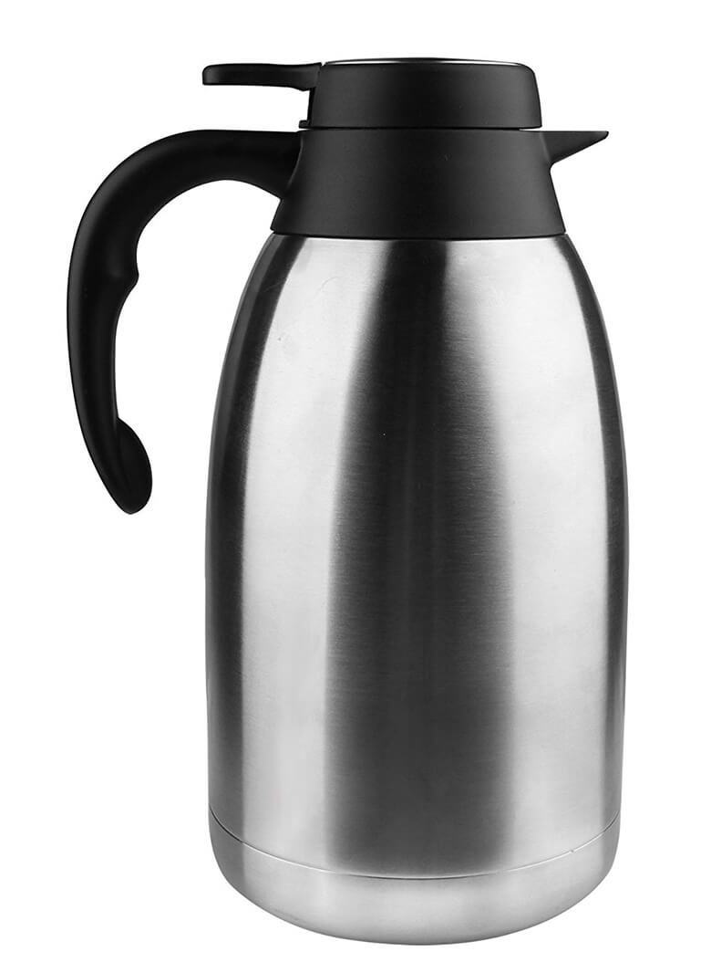 Spaco 68 Oz Stainless Steel Thermal Carafe