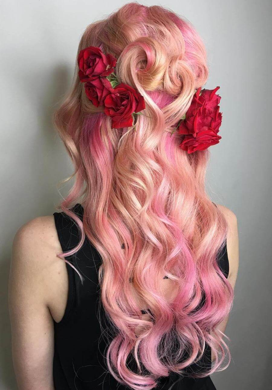 35 Cotton Candy Hair Styles That Look So Good You Ll Want