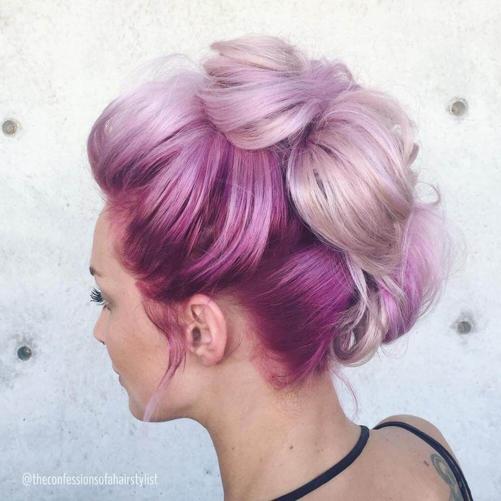 Cotton Candy Blue Hair: 35 Cotton Candy Hair Styles That Look So Good You'll Want