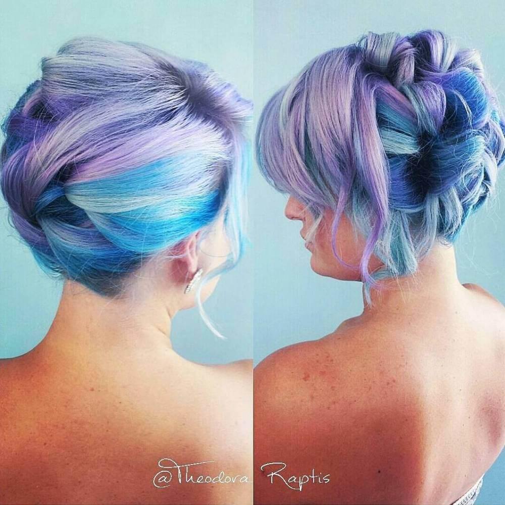 vivid candy hair