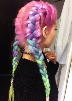 vivid hairstyle