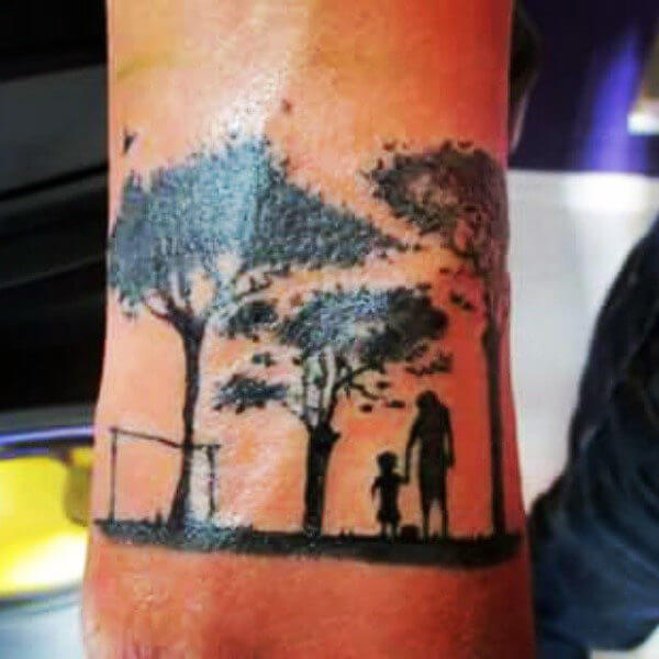 Father Son Tattoos Of 52 Father Son Tattoos That Will Make You Miss Your Dad