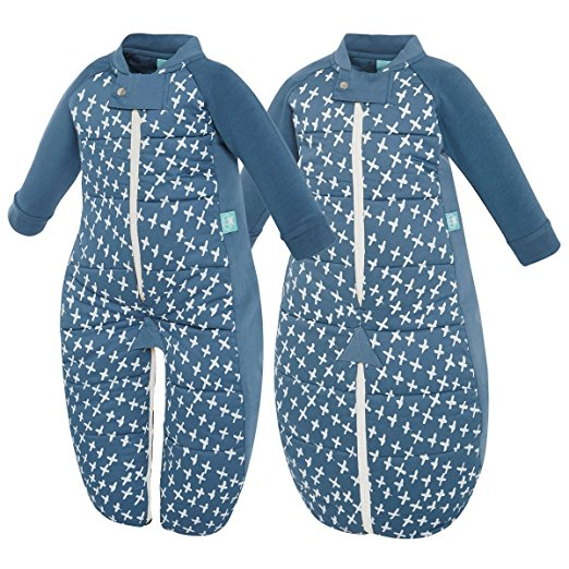 ergopouch 3.5 Tog Sleep Suit Bag, Navy Cross