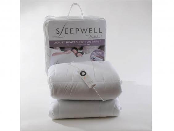 Dreamland Intelliheat Luxury Cotton Duvet