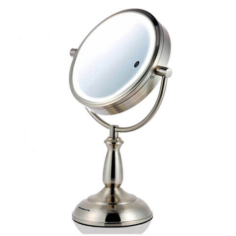 Ovente 8.5 Inch Smart Touch LED Lighted Mirror