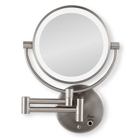 Zadro 10x/1x Cordless LED Lighted Mirror