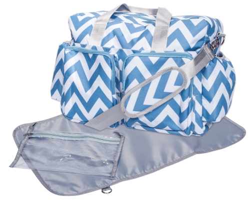 Deluxe Duffle Style Diaper Bag by Trend Lab