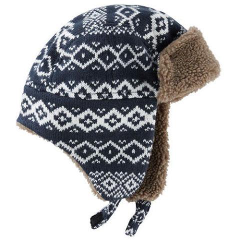 OshKosh Fair Isle Trapper Hat