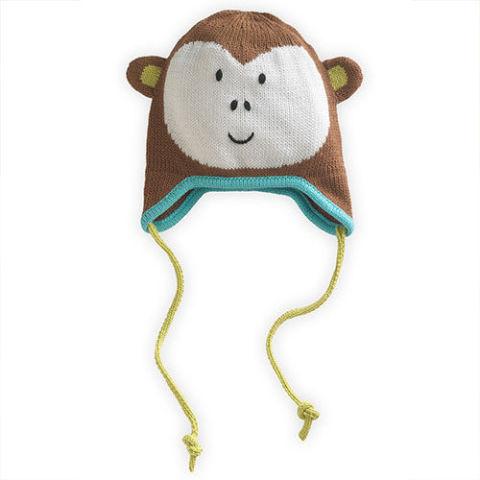 Joobles Fair Trade Organic Mel the Monkey Baby Cap
