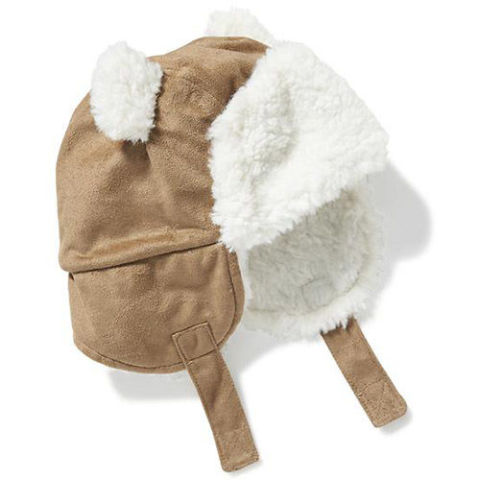 Old Navy Sherpa-Lined Trapper Hat for Baby