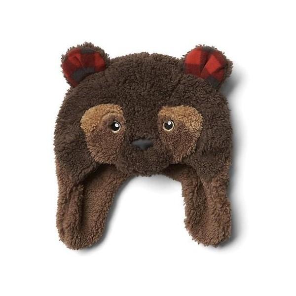 Baby GAP Cozy Plaid Bear Trapper Hat