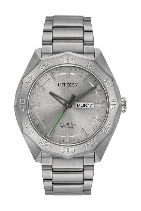 Citizen Eco-Drive Silver-Tone Titanium watch
