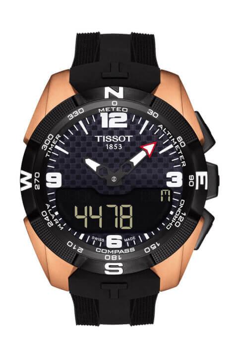 Tissot Titanium GMT Watch - best titanium watches