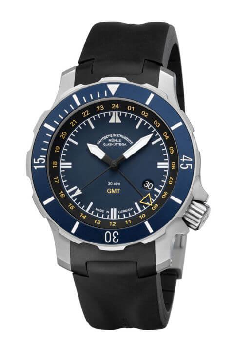 Mühle Seebataillon GMT - great titanium watch