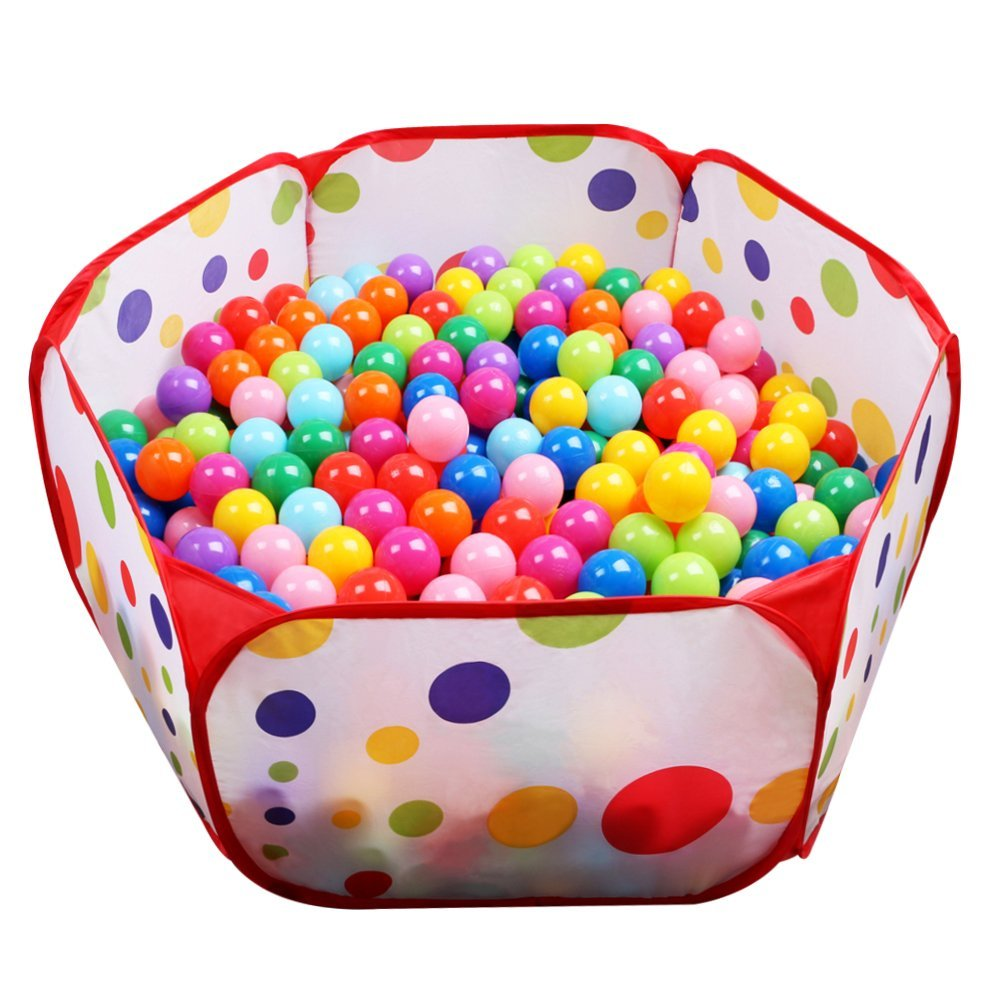 Colorful Ball Pit - best toys for toddlers