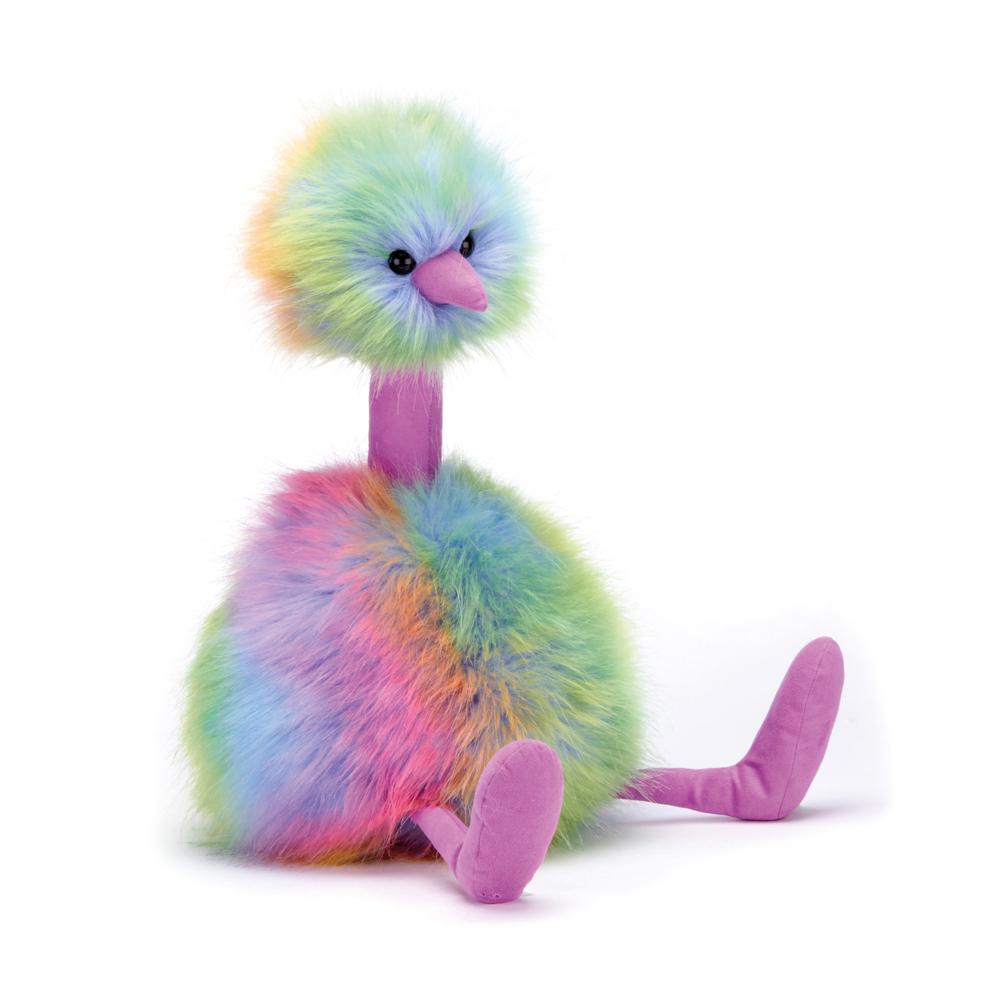 Rainbow Pom Pom Bird