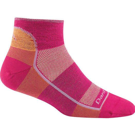 Darn Tough 1/4 Sock Light - best workout socks