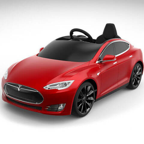 Radio Flyer Tesla Model S Car