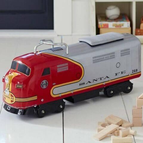 Pottery Barn Kids Lionel Santa Fe Train Ride-On - best ride-on toys