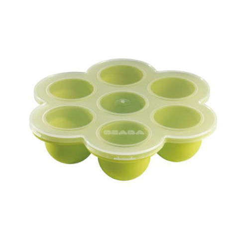 Béaba Multiportion Baby Food Freezer Tray - The first item on the best baby food storage containers list
