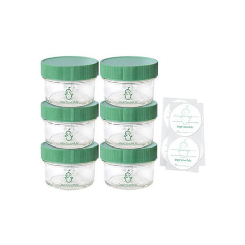 Sage Spoonfuls Glass Baby Food Jars