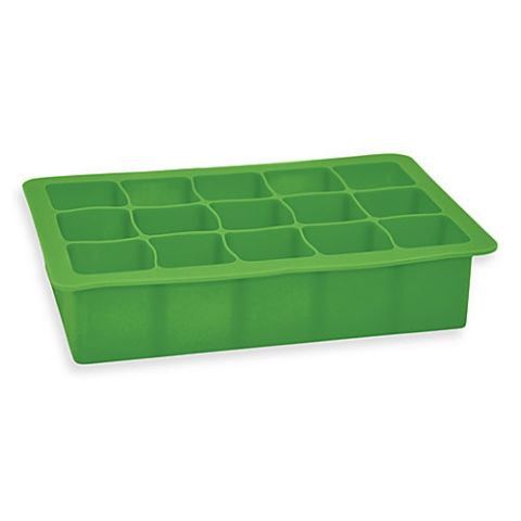 iPlay Green Sprouts Silicone Freezer Tray