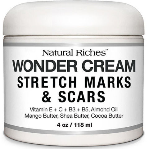 Natural Riches Wonder Cream: Stretch Marks and Scars
