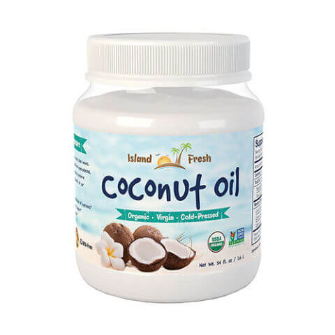 Island Fresh Superior Organic Virgin Coconut Oil