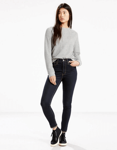 Levi's Women's Mile High Super Skinny Jeans - Best Postpartum Jeans